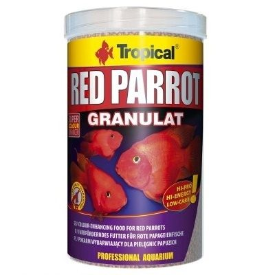 TROPICAL RED PARROTGRANULAT