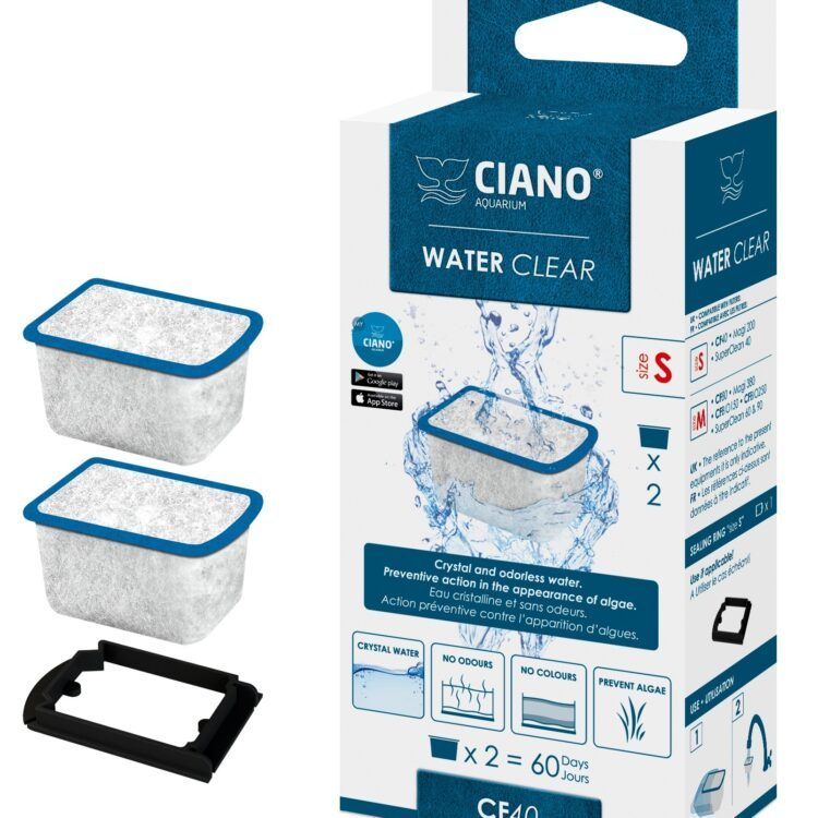 Ciano Filterkapsel Water Clear Small