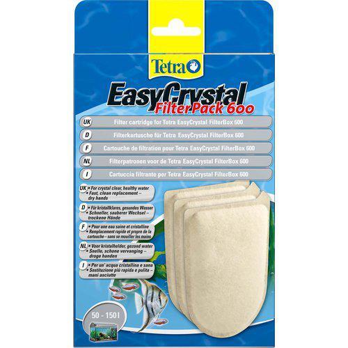 Tetratec filterpatron Easycrystal 600 stk uten kull
